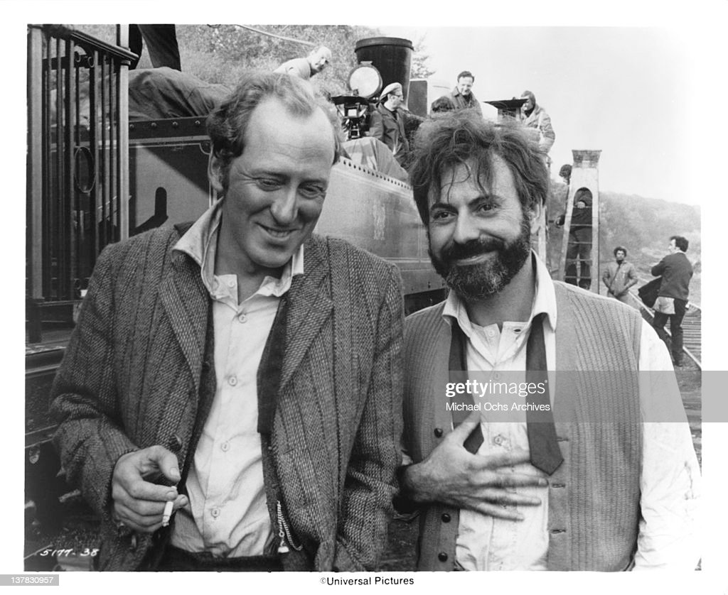 Nicol Williamson and Alan Arkin in a scene from the Universal Pictures movie 'The SevenPerCent Solution'