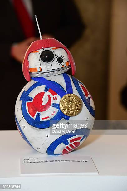 `nicola Adams design at the Star Wars The Force Awakens BB8 GREAT Exhibition and Auction in aid of Great Ormond Street Hospital Children's Charity on...
