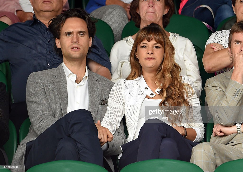 <a gi-track='captionPersonalityLinkClicked' href=/galleries/search?phrase=Nicola+Benedetti&family=editorial&specificpeople=240146 ng-click='$event.stopPropagation()'>Nicola Benedetti</a> attends day nine of the Wimbledon Tennis Championships at Wimbledon on July 8, 2015 in London, England.