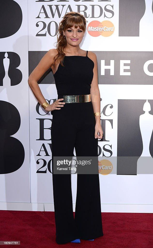 <a gi-track='captionPersonalityLinkClicked' href=/galleries/search?phrase=Nicola+Benedetti&family=editorial&specificpeople=240146 ng-click='$event.stopPropagation()'>Nicola Benedetti</a> attends the Classic BRIT Awards 2013 at Royal Albert Hall on October 2, 2013 in London, England.