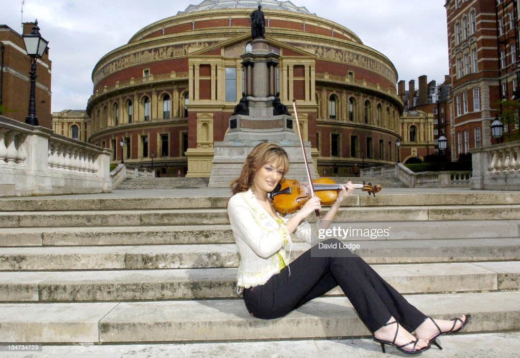 <a gi-track='captionPersonalityLinkClicked' href=/galleries/search?phrase=Nicola+Benedetti&family=editorial&specificpeople=240146 ng-click='$event.stopPropagation()'>Nicola Benedetti</a> during The Classical Brit Awards 2005 - Photocall at Royal Albert Hall in London, Great Britain.