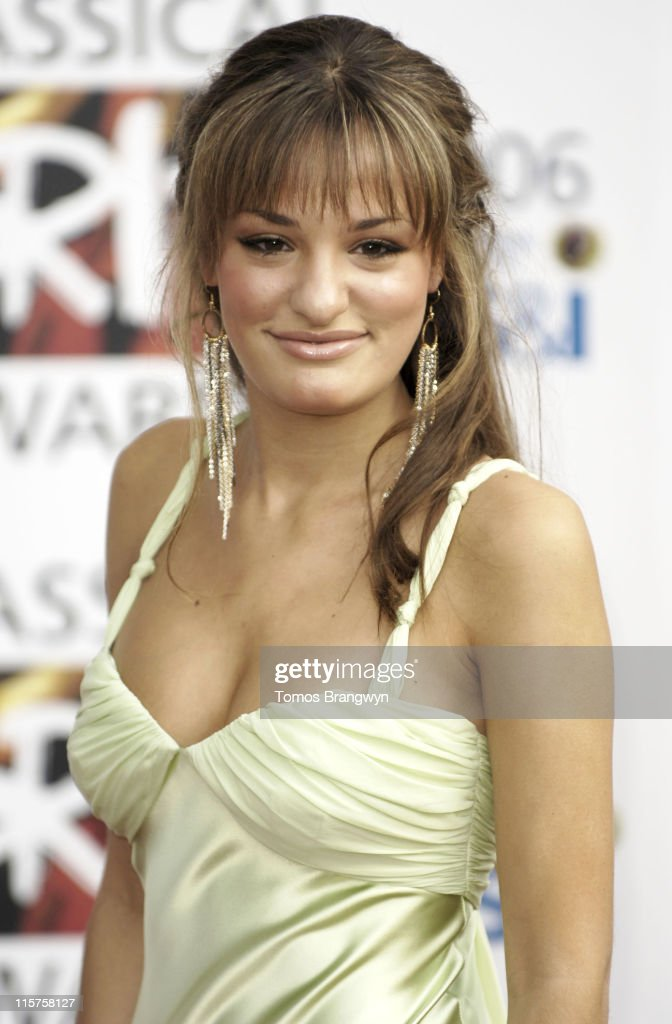 <a gi-track='captionPersonalityLinkClicked' href=/galleries/search?phrase=Nicola+Benedetti&family=editorial&specificpeople=240146 ng-click='$event.stopPropagation()'>Nicola Benedetti</a> during The Classical Brit Awards 2006 - Arrivals at Royal Albert Hall in London, Great Britain.