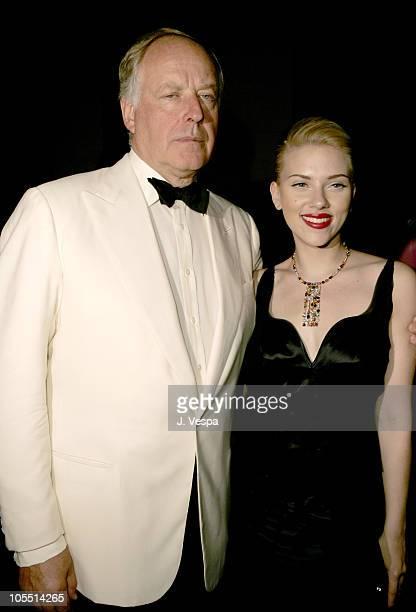 Nicola Bulgari and Scarlett Johansson at the amfAR's Cinema Against AIDS Venice presented By BVLGARI