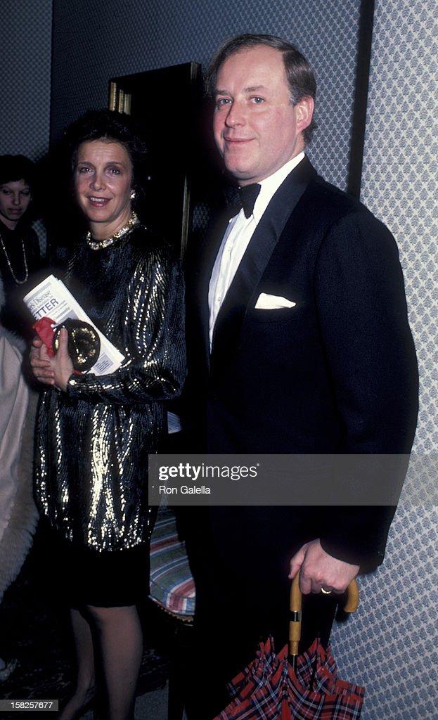 Nicola Bulgari and wife Anna Bulgari attend Third Annual Rita Hayworth Alzheimer's Disease Benefit Gala on December 2 1986 at Princess Yasmin Khan's...