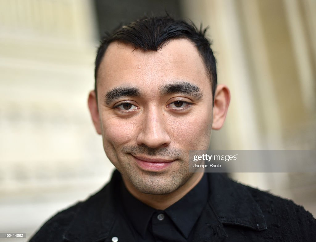 <a gi-track='captionPersonalityLinkClicked' href=/galleries/search?phrase=Nicola+Formichetti&family=editorial&specificpeople=7376980 ng-click='$event.stopPropagation()'>Nicola Formichetti</a> arrives at Maison Margiela Fashion Show during Paris Fashion Week Fall Winter 2015/2016 on March 6, 2015 in Paris, France.