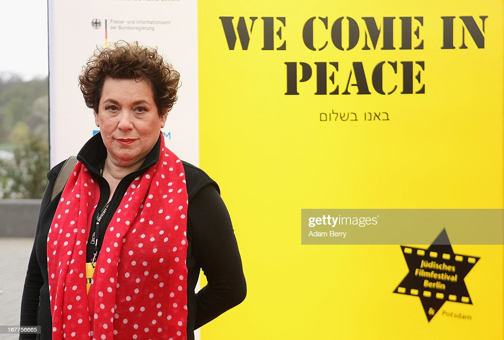 Nicola Galliner arrives for the opening of the 19th Jewish Film Festival Berlin & Potsdam on April 29, 2013 in Potsdam, Germany. The festival was founded in 1995 on the 50th anniversary of the end of World War II.
