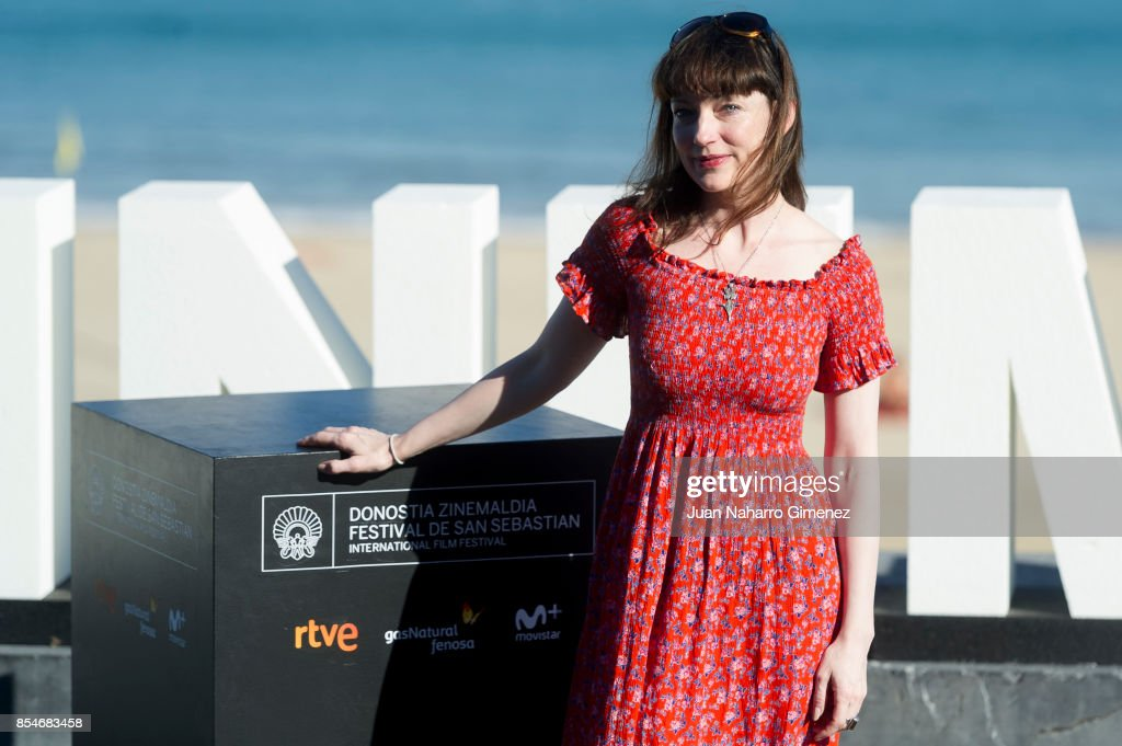 Nicola Harrison attends 'Marrowbone' photocall during 65th San Sebastian Film Festival on September 27, 2017 in San Sebastian, Spain.