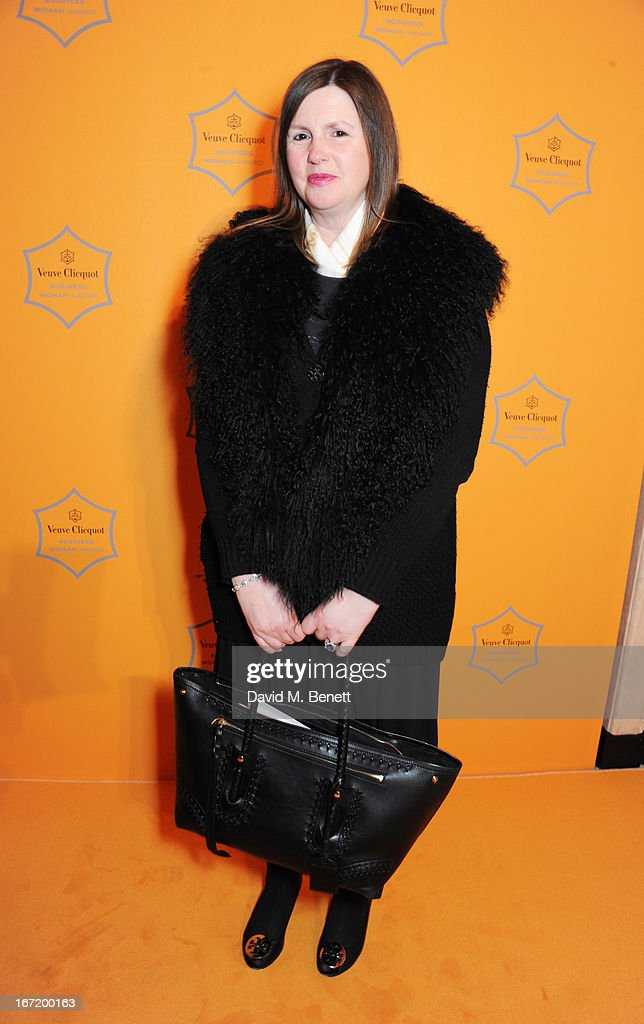 Nicola Horlick attends the Veuve Clicquot Business Woman Award 2013 at Claridge's Hotel on April 22, 2013 in London, England.