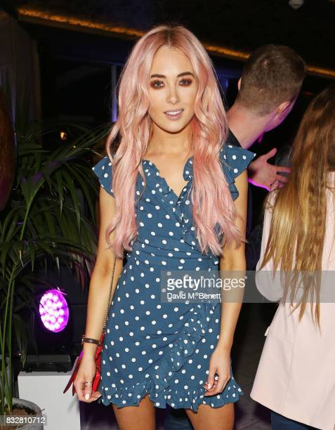 Nicola Hughes attends the Look Of The Day launch party in the Radio Rooftop Bar at the ME Hotel on August 16 2017 in London England