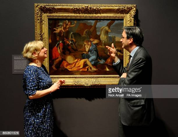 Nicola Kalinsky Director of the Barber Institute of Fine Art Birmingham and Nicholas Penny the Director of the National Gallery discuss Tancred and...
