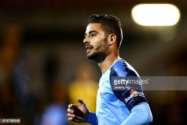 Nicola Kuleski of Sydney FC looks on and reacts during the 2017 Johnny Warren Challenge match between Sydney FC and Earlwood Wanderers at Leichhardt...