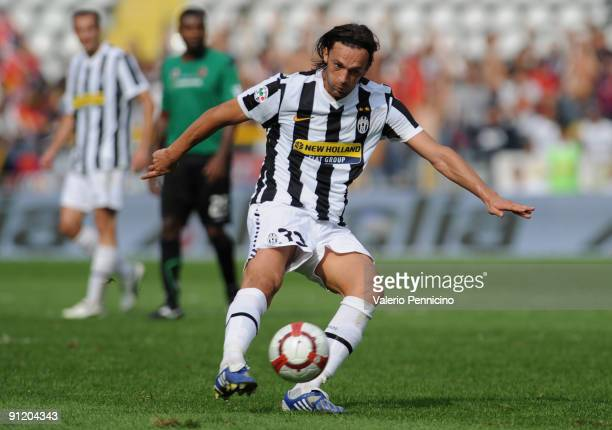 Nicola Legrottaglie of Juventus FC in action during the Serie A match between Juventus FC and Bologna FC at Olimpico Stadium on September 27 2009 in...