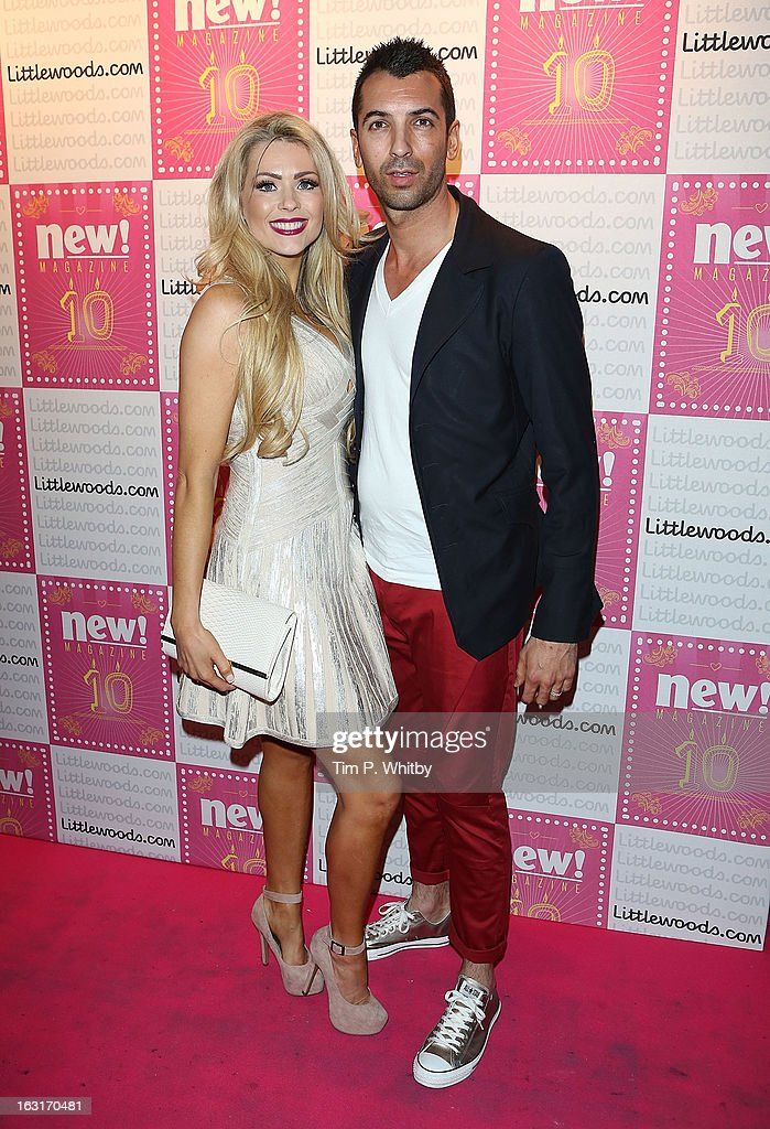 Nicola Mclean and guest attend New Magazine Celebrates 10 years in print at Gilgamesh on March 5, 2013 in London, England.
