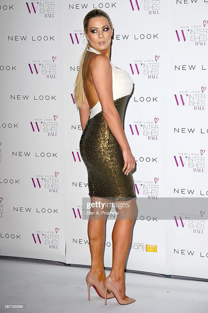 Nicola Mclean attends the New Look Winter Wishes Charity Ball at Battersea Evolution on November 6, 2013 in London, England.