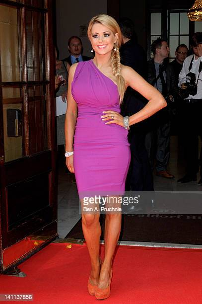 Nicola McLean attends the Tesco Magazine Mum Of The Year 2012 at The Waldorf Hilton Hotel on March 11 2012 in London England