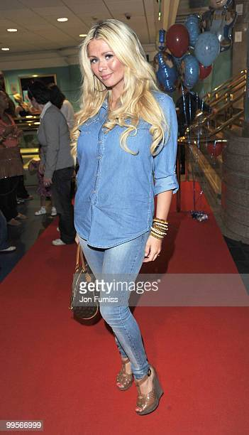 Nicola Mclean attends the UK film premiere of 'Bob The Builder The Legend Of The Golden Hammer' at Vue Leicester Square on May 15 2010 in London...