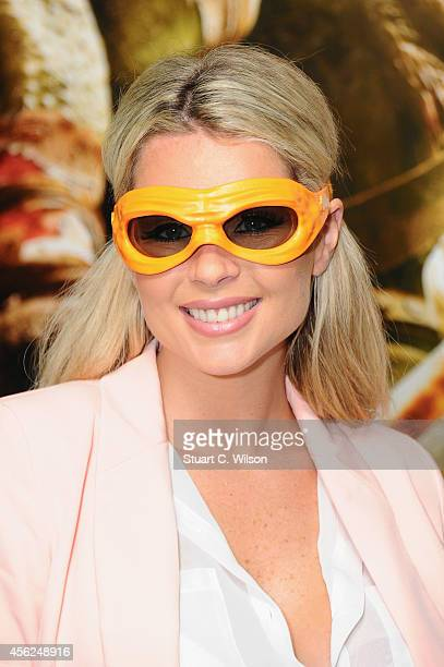 Nicola McLean attends the UK Gala screening of Teenage Mutant Ninja Turtles at Vue West End on September 28 2014 in London England