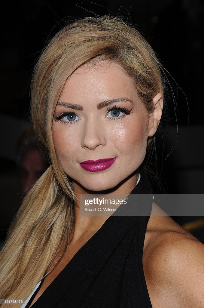 Nicola McLean Designs at the Nico Didonna presentation during London Fashion Week Fall/Winter 2013/14 at Baku Restaurant on February 15, 2013 in London, England.