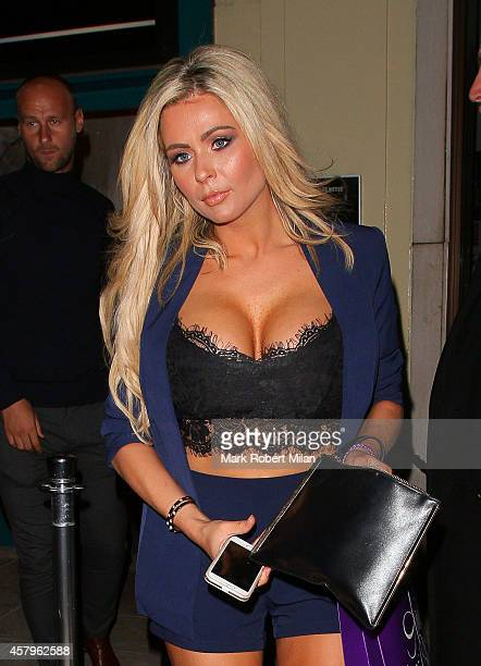 Nicola McLean Harry Derbridge Aisleyne HorganWallace Louie Spence Stephanie Edwards Grace Andrews and Amy Childs attending the Amy Childs clothing...