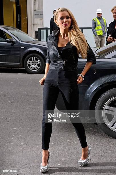 Nicola Mclean sighted in London on February 8 2012 in London England