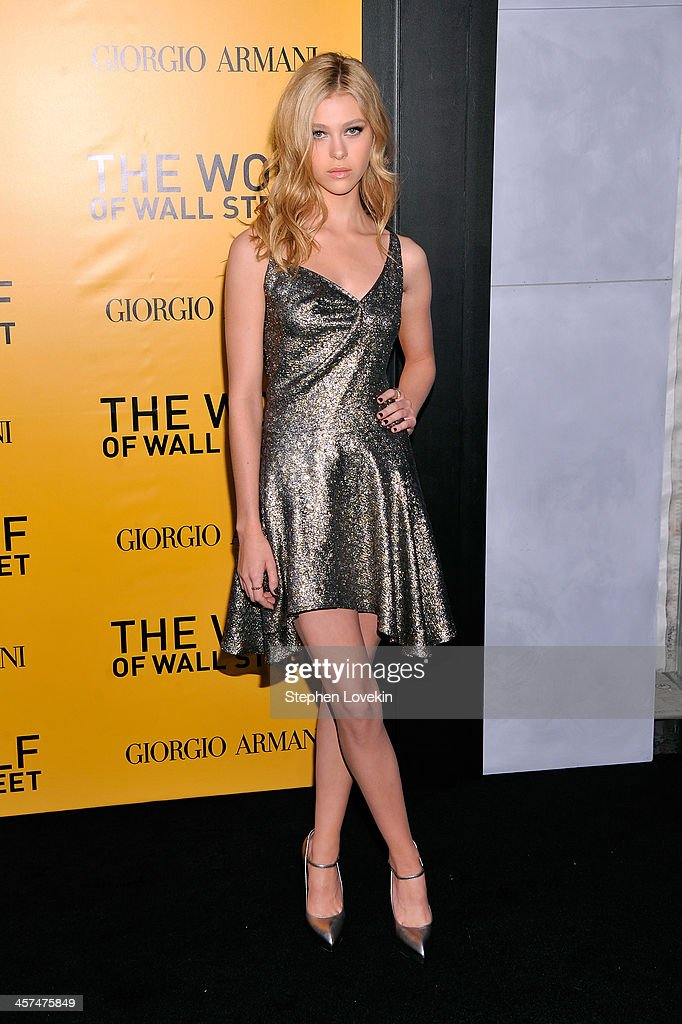 <a gi-track='captionPersonalityLinkClicked' href=/galleries/search?phrase=Nicola+Peltz&family=editorial&specificpeople=5306904 ng-click='$event.stopPropagation()'>Nicola Peltz</a> attends Giorgio Armani Presents: 'The Wolf Of Wall Street' world premiere at the Ziegfeld Theatre on December 17, 2013 in New York City.
