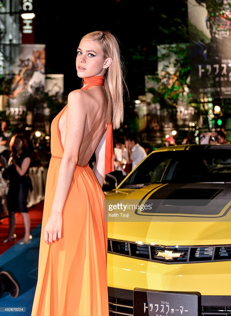 <a gi-track='captionPersonalityLinkClicked' href=/galleries/search?phrase=Nicola+Peltz&family=editorial&specificpeople=5306904 ng-click='$event.stopPropagation()'>Nicola Peltz</a> attends the Japan premiere of 'Transformers : Age Of Extinction' at the Toho Cinemas Nihonbashi on July 28, 2014 in Tokyo, Japan.