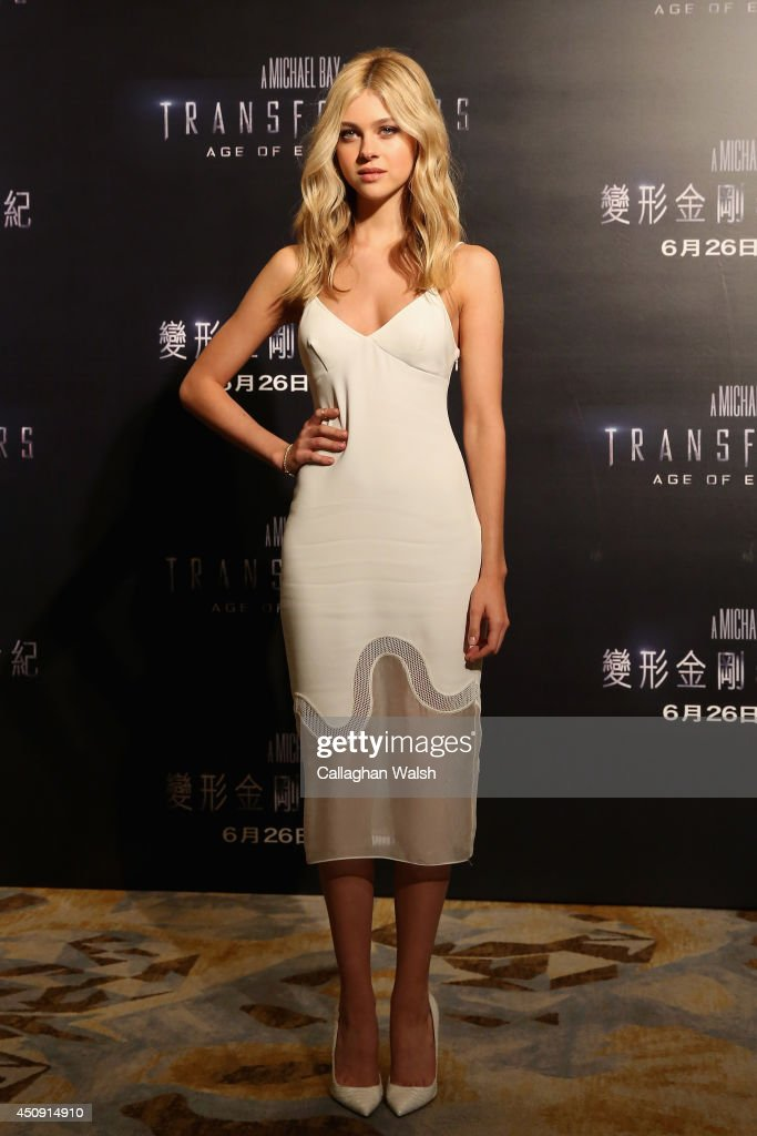 Nicola Peltz attends the photo call for the worldwide premiere screening of 'Transformers Age of Extinction' on June 20 2014 in Hong Kong Hong Kong