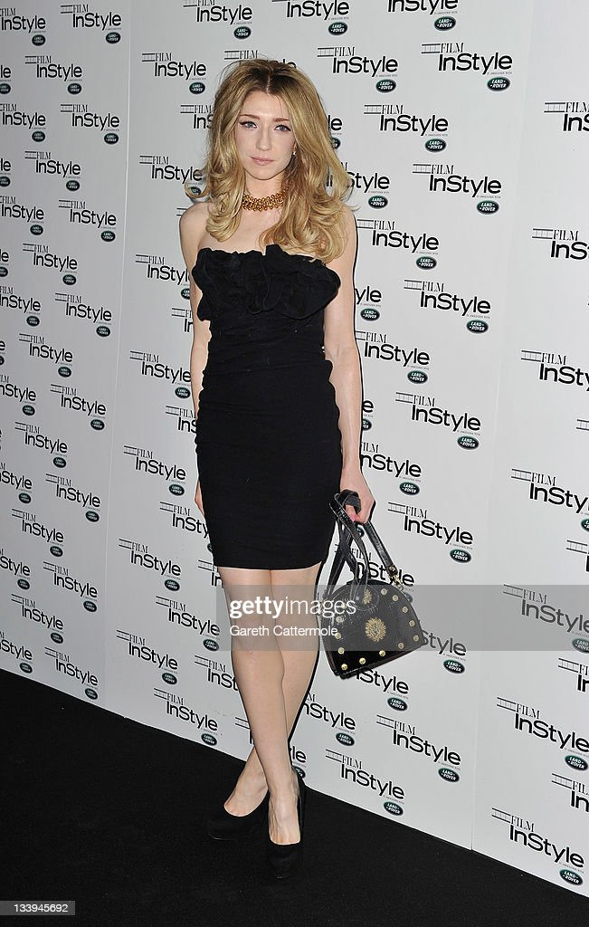 Nicola Roberts arrives at 'Film InStyle' in association with Land Rover celebrating InStyle Magazine's 10th Anniversary at The Sanctum Soho Hotel on November 22, 2011 in London, England.