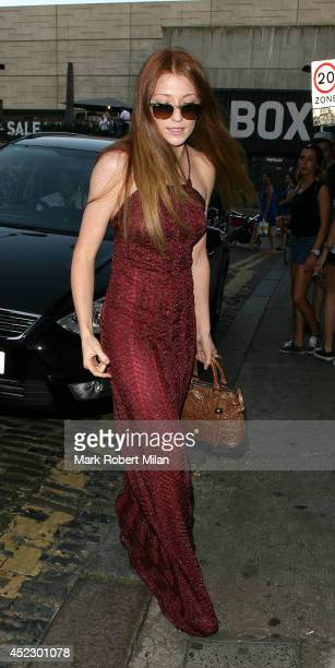 Nicola Roberts at Shoreditch House on July 17 2014 in London England