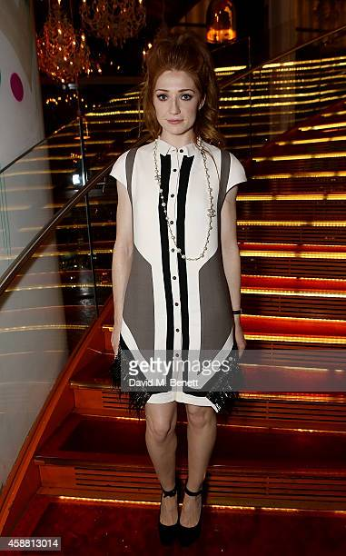 Nicola Roberts attends as Sushisamba celebrates its second anniversary with a performance by Lily Allen and a VIP party at Sushisamba on November 11...