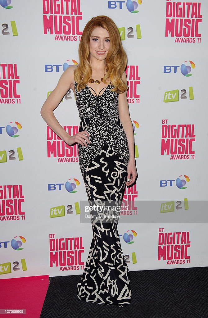Nicola Roberts attends BT Digital Music Awards at The Roundhouse on September 29, 2011 in London, England.