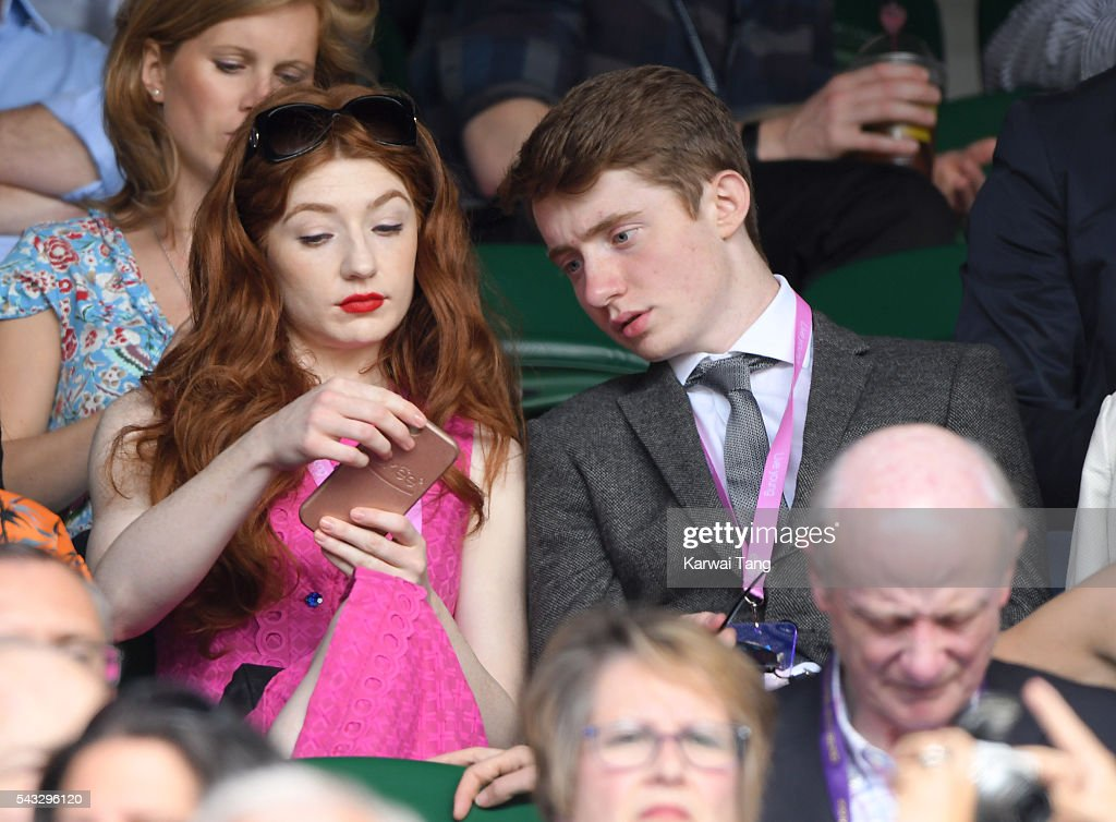 <a gi-track='captionPersonalityLinkClicked' href=/galleries/search?phrase=Nicola+Roberts&family=editorial&specificpeople=203306 ng-click='$event.stopPropagation()'>Nicola Roberts</a> attends day one of the Wimbledon Tennis Championships at Wimbledon on June 27, 2016 in London, England.