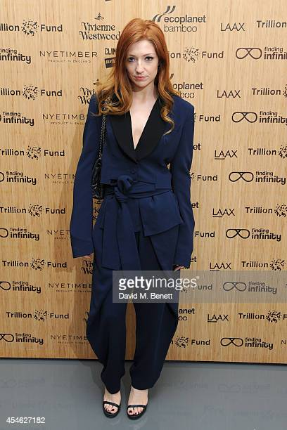 Nicola Roberts attends OFFtheGRID London event with Vivienne Westwood Trillion Fund and Findinginfinity on September 4 2014 in London England