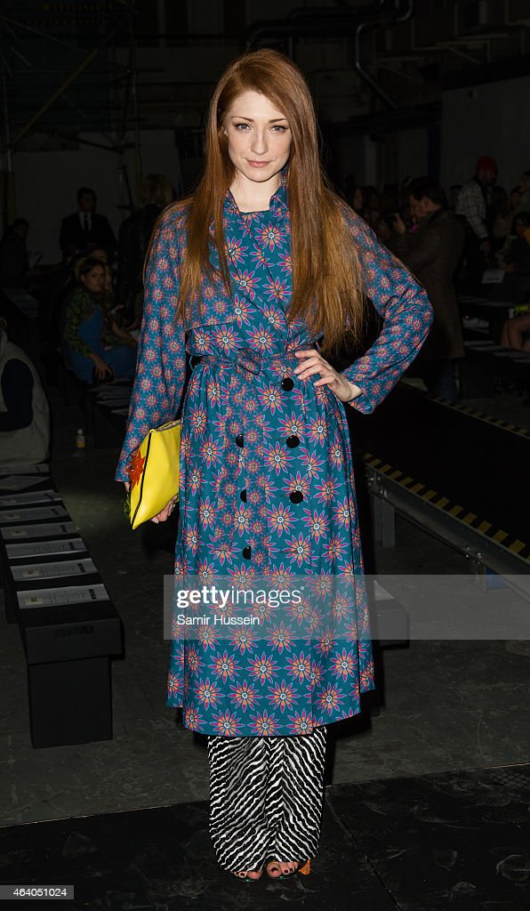 <a gi-track='captionPersonalityLinkClicked' href=/galleries/search?phrase=Nicola+Roberts&family=editorial&specificpeople=203306 ng-click='$event.stopPropagation()'>Nicola Roberts</a> attends the Henry Holland show during London Fashion Week Fall/Winter 2015/16 on February 21, 2015 in London, United Kingdom.