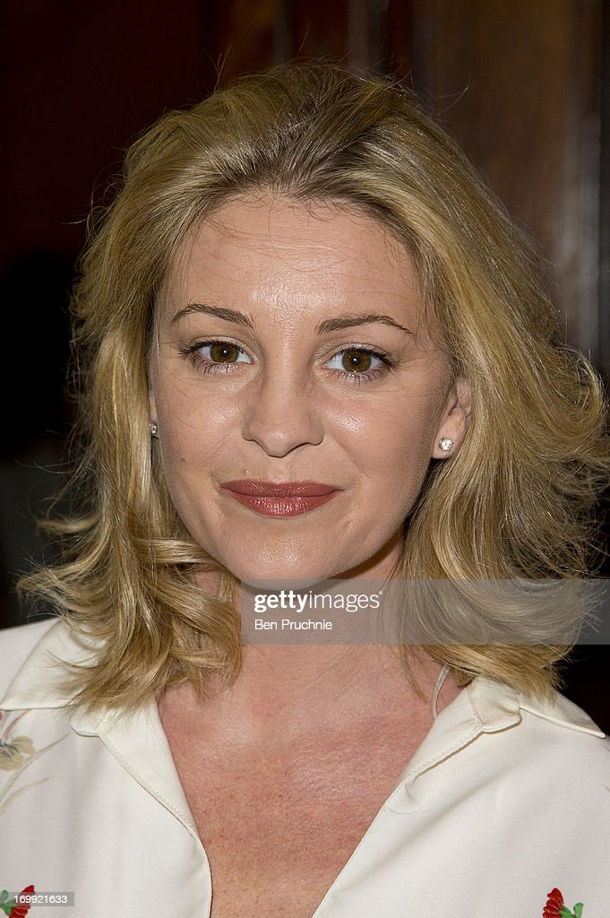 Nicola Stapleton attends the press night of 'Blind Date' at Charing Cross Theatre on June 4, 2013 in London, England.