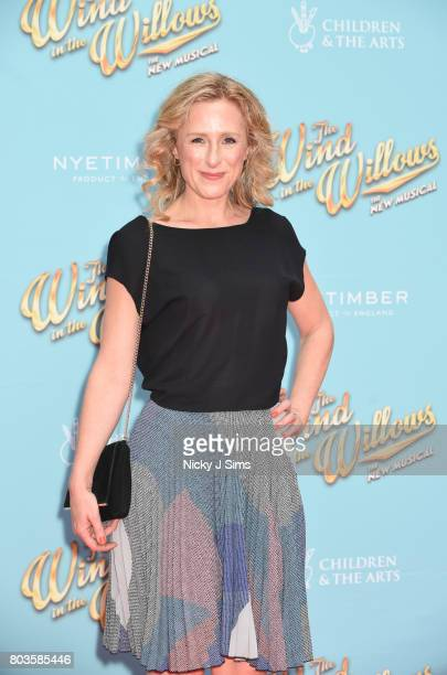 Nicola Stephenson attends the Gala performance of Wind In The Willows at London Palladium on June 29 2017 in London England