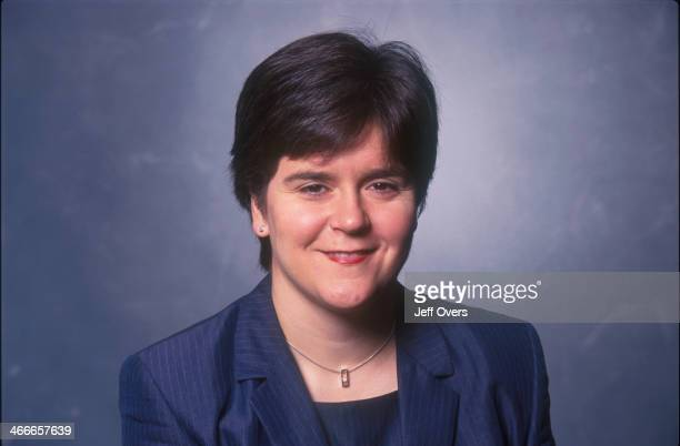 Nicola Sturgeon Member of SNP Scottish National Party MP for Glasgow constituency/ region