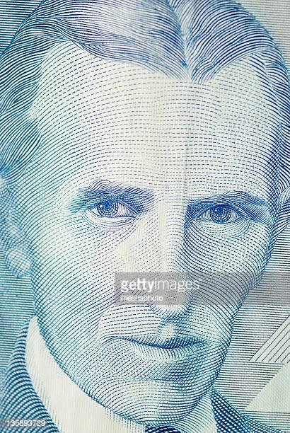 Nicola Tesla Inventor Portrait