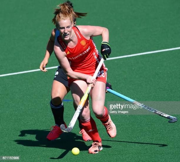 Nicola White of England during day 9 of the FIH Hockey World League Women's Semi Finals 3rd4th place match between England and Argentina at Wits...