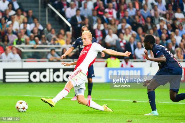 Nicolai BOILESEN Ajax Amsterdam / Paris Saint Germain Champions League Photo Dave Winter / Icon Sport