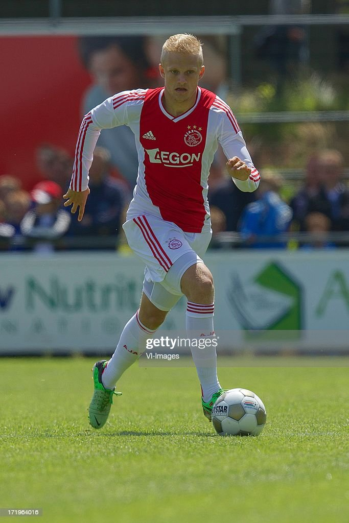 Nicolai Boilesen of Ajax during the pre season friendly match between SDC Putten and Ajax on June 29, 2013 in Putten, The Netherlands.