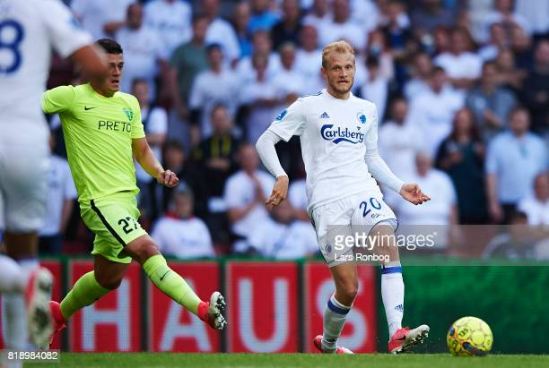 Nicolai Boilesen of FC Copenhagen in action during the UEFA Champions League Qualification match between FC Copenhagen and MSK Zilina at Telia Parken...
