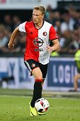 Nicolai Jorgensen of Feyenoord during the preseason friendly match between Feyenoord and Valencia on July 23 2016 at the Kuip in Rotterdam The...