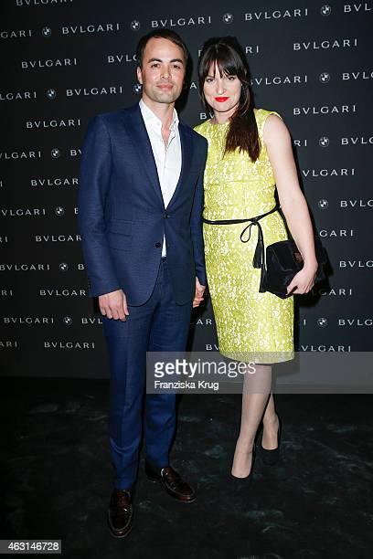 Nicolai Kinski and Ina Paule Klink attend the Bulgari Diva Cinema Night on February 10 2015 in Berlin Germany