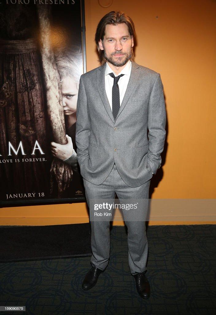 Nicolaj Coster-Waldau attends the 'Mama' screening at Landmark's Sunshine Cinema on January 7, 2013 in New York City.