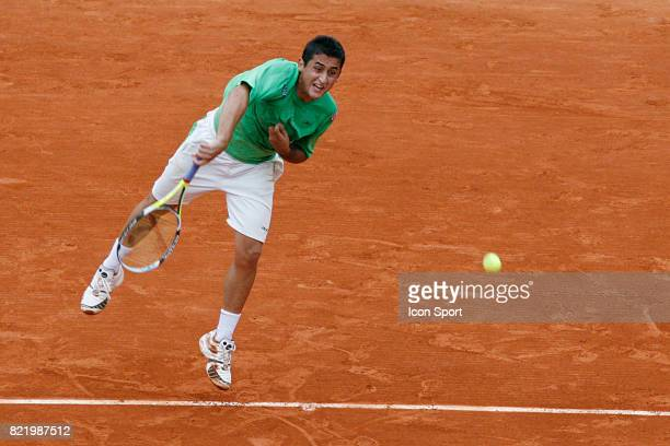 Nicolas ALMAGRO Roland Garros 2008 Jour 8
