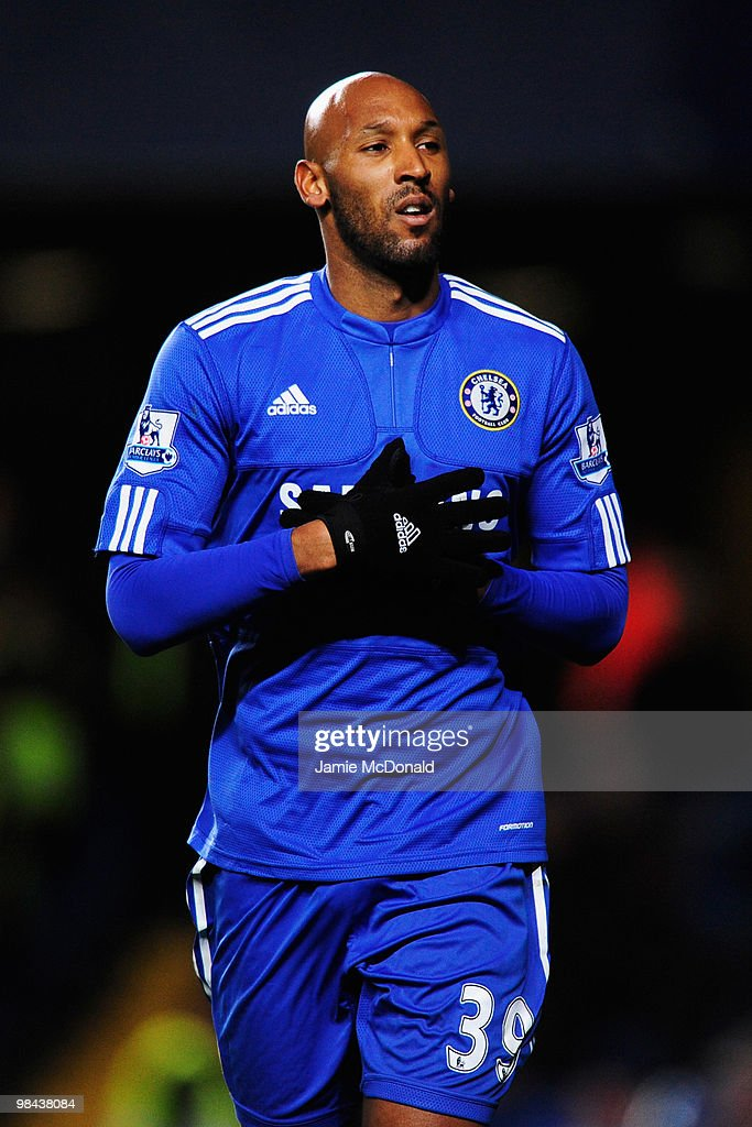 <a gi-track='captionPersonalityLinkClicked' href=/galleries/search?phrase=Nicolas+Anelka&family=editorial&specificpeople=206204 ng-click='$event.stopPropagation()'>Nicolas Anelka</a> of Chelsea celebrates as he scores their first goal during the Barclays Premier League match between Chelsea and Bolton Wanderers at Stamford Bridge on April 13, 2010 in London, England.
