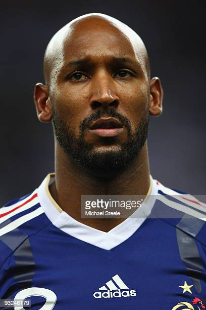 Nicolas Anelka of France during the France v Republic of Ireland FIFA 2010 World Cup Qualifying Play Off second leg match at the Stade de France on...