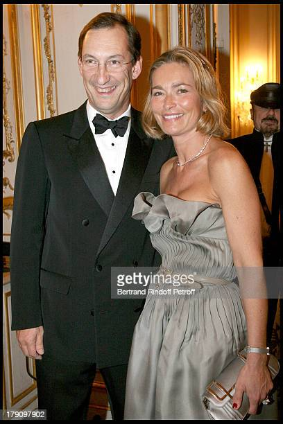 Nicolas Bazire and wife Fabienne at Gala Evening For Cardiovascular Research Foundation Institut De France