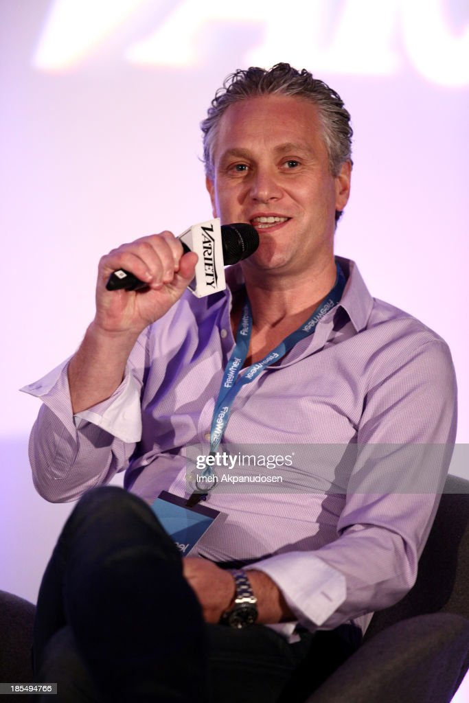 Nicolas Beraudo, GM US at App Annie speaks onstage during 'The New Digital Marketer Telling Not Selling The Story' Panel at the Variety Entertainment and Technology Summit at Ritz Carlton Hotel on October 21, 2013 in Marina del Rey, California.